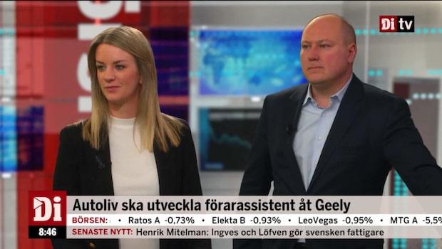 """Landeborn: """"Händer mycket spännande i Autoliv"""""""