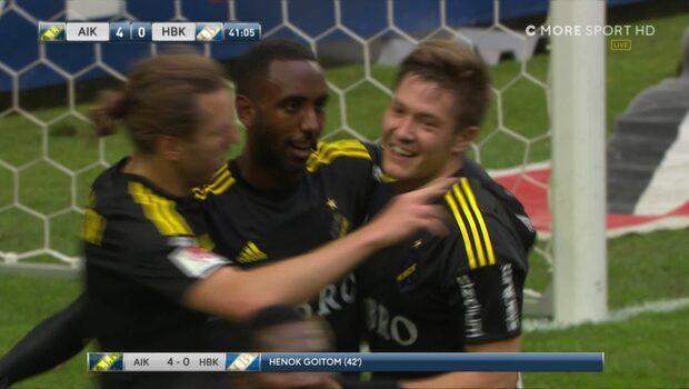 Höjdpunkter: AIK-Halmstad