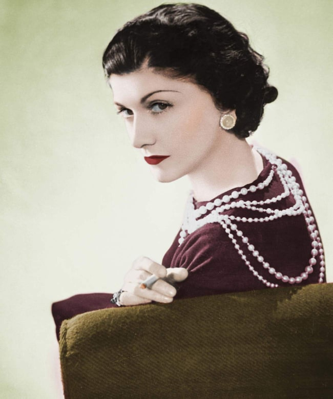 Coco Chanel, modeskapare.