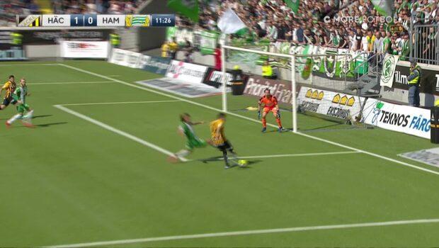 Paulinho dunkar in 1-0 för Häcken