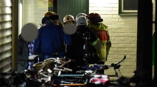 Enligt polisen kom det in flera anmälningar om händelsen samtidigt. Foto: / Andreas Holm