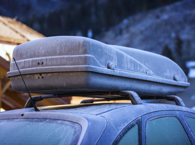 Längdskidor eller slalomskidor? Åker du bara utför fungerar en kortare takbox utmärkt.