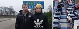 """Emil, 14, nekas busskort – pappan rasar: """"Livsfarligt"""""""