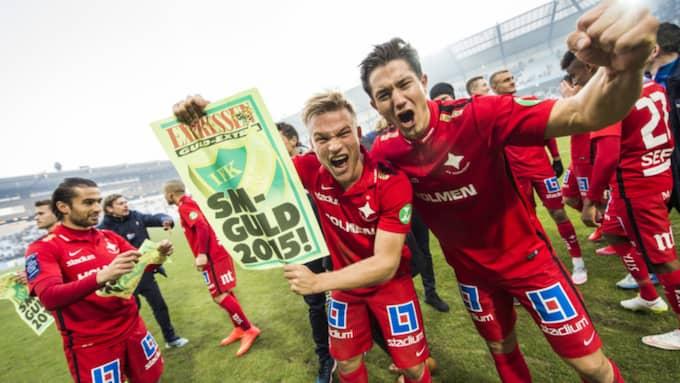 David Boo Wiklander spelade från start i nästan alla Norrköpings matcher i fjol. Foto: Tomas Leprince