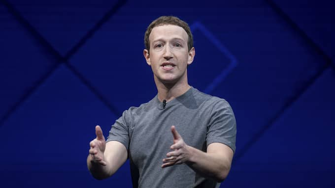 Mar Zuckerberg, vd för Facebook, är en motvillig publicist. Foto: NOAH BERGER / AP TT NYHETSBYRÅN