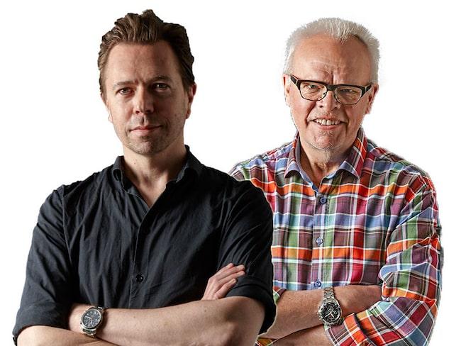 Andreas Grube och Håkan Larsson har testat vinerna.