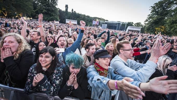 Festivalismen. Way out west-festivalen har profilerat sig med en lång rad politiska ställningstaganden. Här en bild från Morrisseys spelning 2016. Foto: PELLE T NILSSON / STELLA PICTURES - PELLE T NILSSON