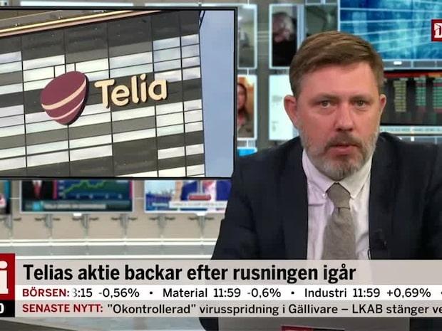 Di Marknadsnytt: Telia backar efter rusningen igår