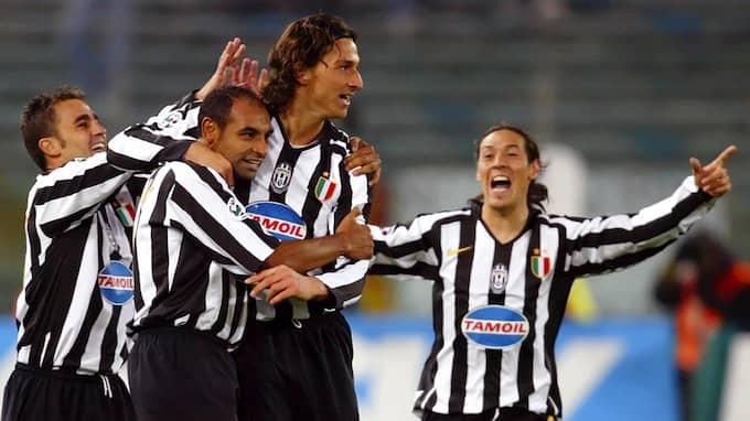 Zlatan Ibrahimovic pekades ut som dopad under sin tid i Serie A. Foto: / © BILDBYRÅN