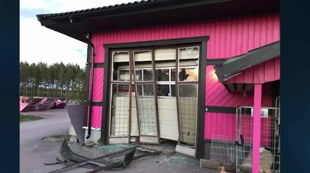Mannen stal kött under smash & grab – greps i djuraffär