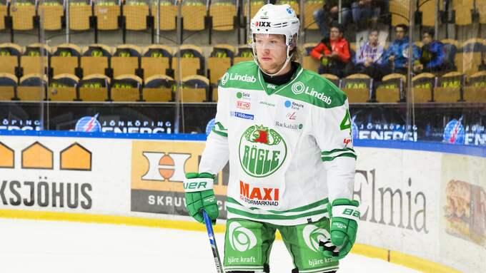 Ludvig Claesson ser ut att lämna Rögle. Foto: STEFAN PERSSON