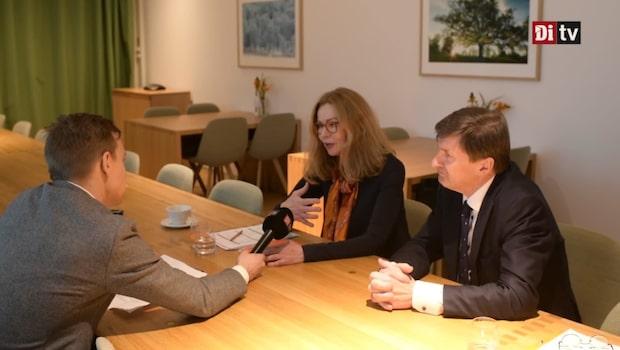 Se Birgitte Bonnesen intervjuas av Di:s Martin Rex