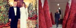 Trumps hälsning – efter skämten om julgranarna