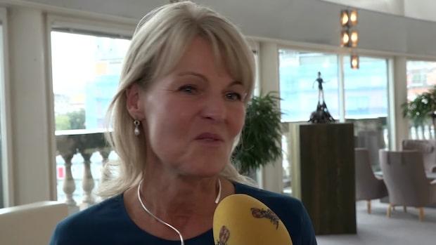 """Anna Hallberg: """"Jag fick frågan i närtid"""""""