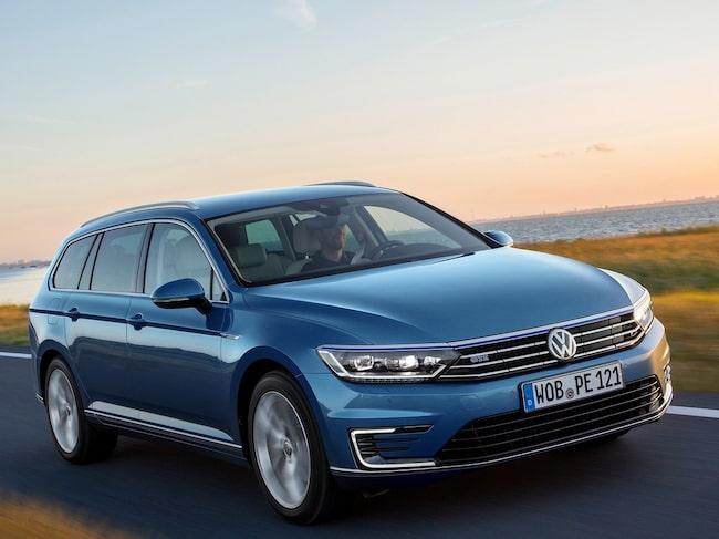 Volkswagen Passat GTE är en populär laddhybrid.