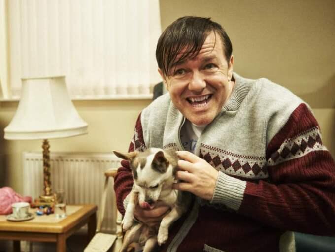"""Ricky Gervais som Derek på en bild från den första säsongen av """"Derek"""". Den andra säsongen finns nu på Netflix. Foto: Netflix"""