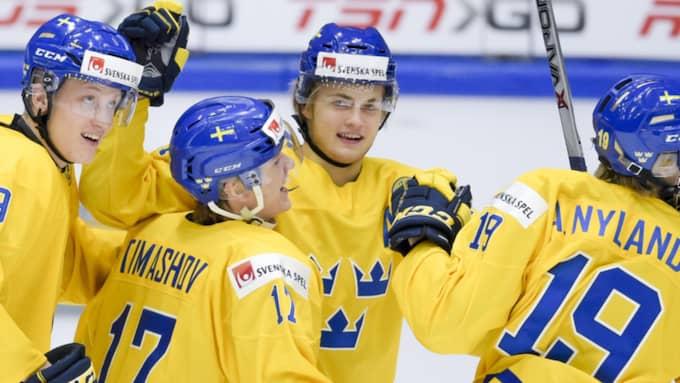 William Nylander får inte spela VM med Tre Kronor. Foto: Joel Marklund / BILDBYRÅN
