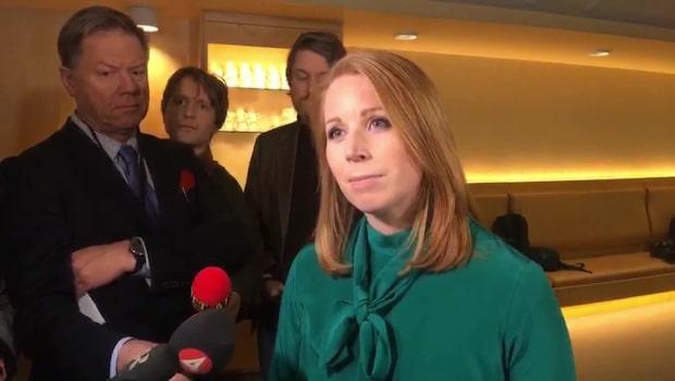 Annie Lööf: ''Vi fortsätter att vara konstruktiva''