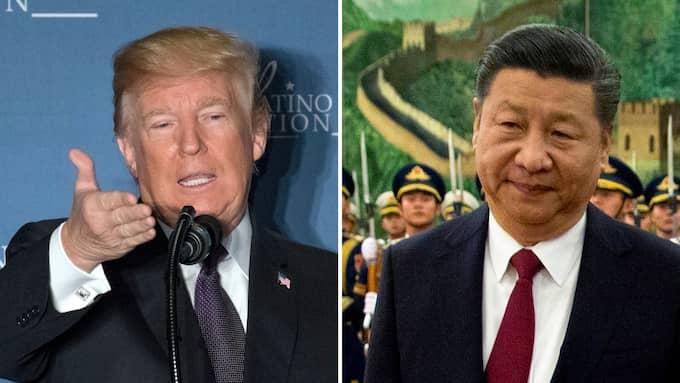 USA:s president Donald Trump har infört ståltullar för att stoppa konkurrens från Kina.
