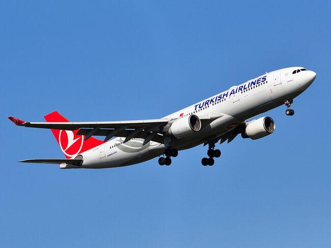 Turkish Airlines -planet, med cirka hundra passagerare, var på väg från Nairobi till Istanbul när det tvingades nödlanda.