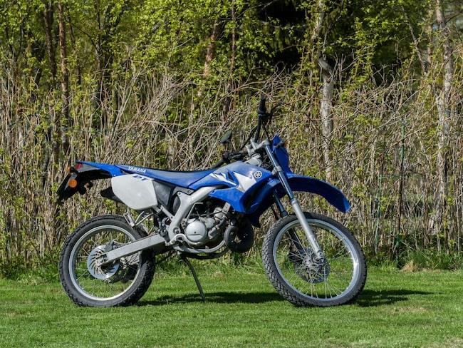 Motocrossmoped Yamaha DT50r.