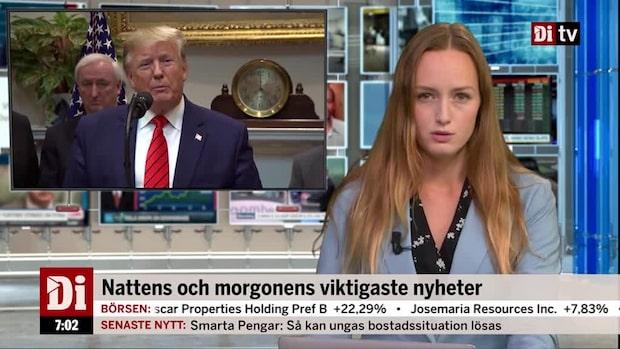 Di Morgonkoll: Förhandlingarna mellan USA och Kina återupptas under torsdagen