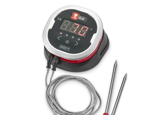 En sån här grilltermometer från Weber har sålts på Tradera för 615 kronor. Ny kostar den cirka 1 299 kronor.