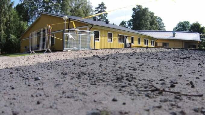 Ett boende för ensamkommande flyktingbarn i Värnamo utsattes sent på fredagskvällen för ett brandattentat.