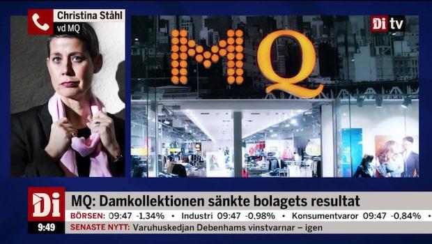 MQ:s vd om rapporten
