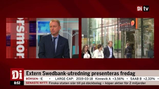 Extern Swedbank-utredning presenteras på fredag