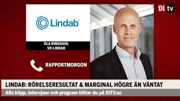 """Ola Ringdahl vd Lindab: """"Ser positivt på långsiktiga framtiden"""""""