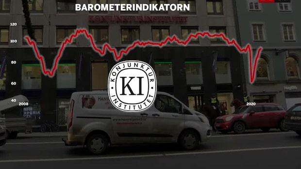 KI-barometern stiger i oktober – tecken på återhämtning