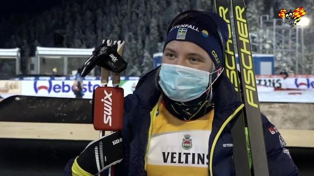 """Linn Svahn: """"Jag har känt mig stark hela dagen"""""""