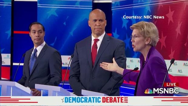 Sammanfattning: Så var första demokrat-debatten