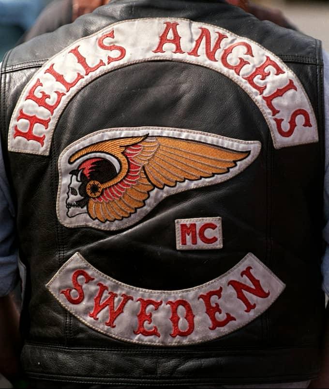 Så väl offret som de misstänkta mördarna har kopplingar till mc-klubben Hells Angels. Foto: TT Nyhetsbyrån