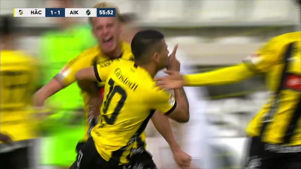 Paulinhos tionde mål – kvitterar mot AIK