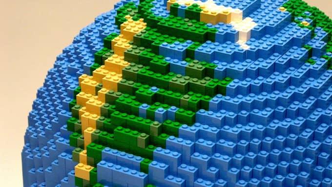 Legoklossarna är populära runt om i världen, både bland barnoch vuxna. Foto: TN1\ZOB