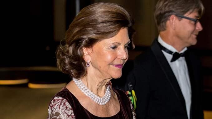 Drottnig Silvia var på plats. Foto: (C) PELLE T NILSSON / (C) PELLE T NILSSON/STELLA PICTU STELLA PICTURES