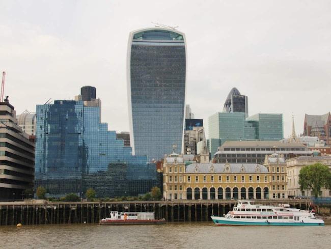 <span>Det officiella namnet på den 37 våningar höga byggnaden är 20 Fenchurch Street, efter adressen i Londons finansdistrikt som den ligger på.</span>