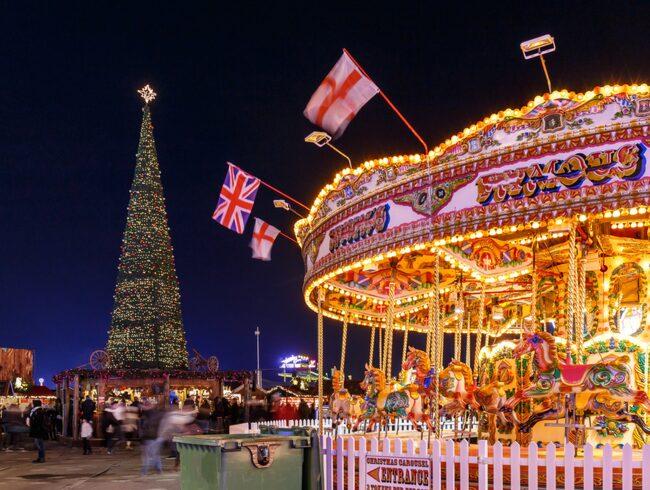 Julmarknaden i Hyde Park i London är ett utmärkt sätt att koppla av en stund.