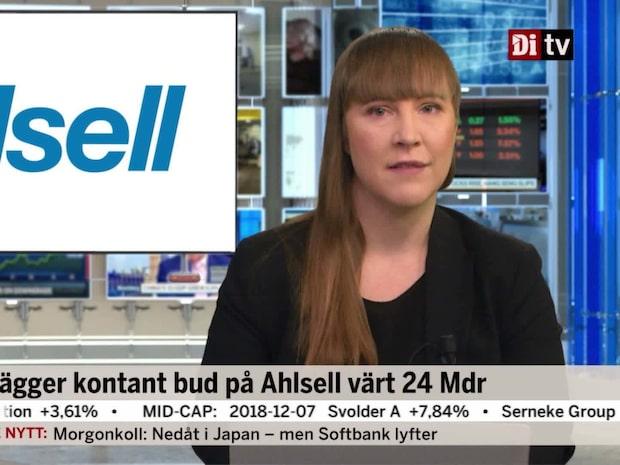 Di Nyheter 08.00 11 december - CVC vill köpa ut Ahlsell