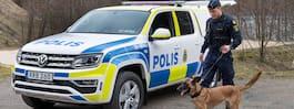 Nu får polishundarna  sina nya lyxiga bilar