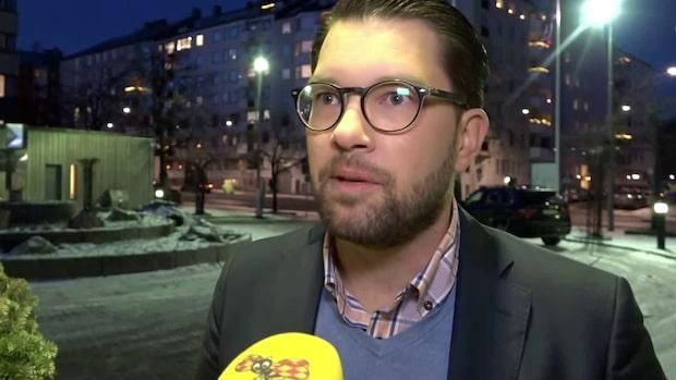 """Åkesson: """"Jag har inget problem med en vänsterliberal regering"""""""