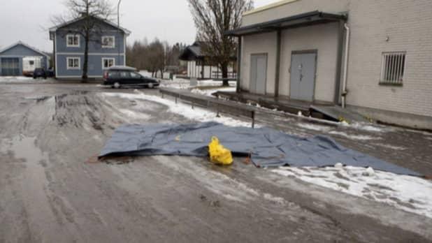 Här inträffade dådet i Kristinehamn i februari 2017. Foto: POLISEN