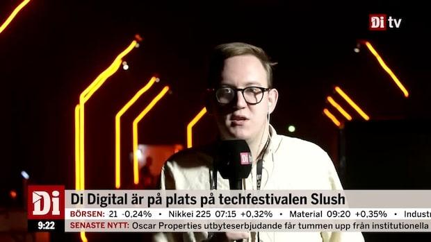 Di Digital är på plats på techfestivalen Slush