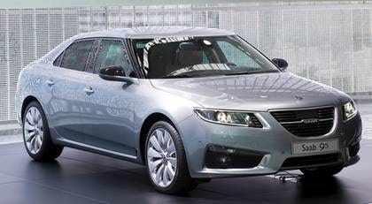 Nya Saab 9-5.