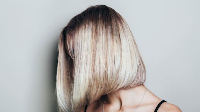 färga håret med schampo