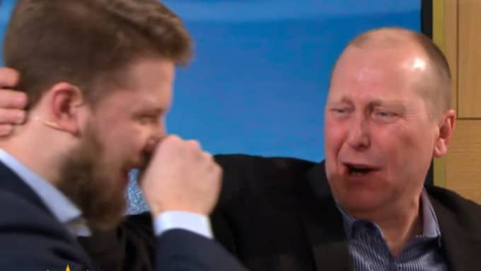 """Här vinner Pontus, 21, fem miljoner kronor i """"Nyhetsmorgon""""."""