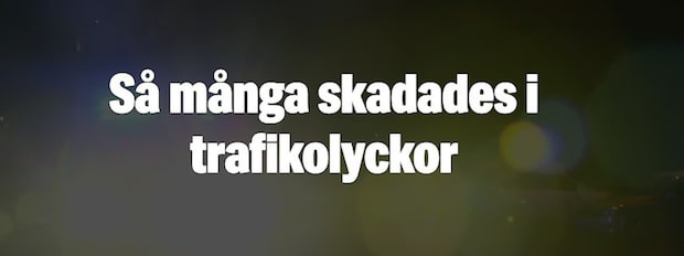 Trafikolyckor i Västsverige 2017