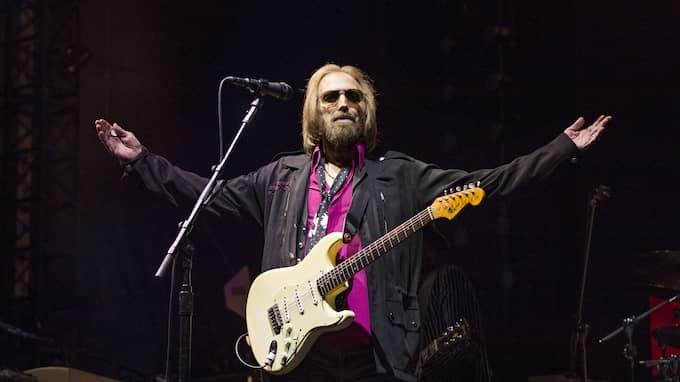 Tom Petty & The Heartbreakers är invalda i Rockens Hall of Fame. Foto: AMY HARRIS / AP TT NYHETSBYRÅN